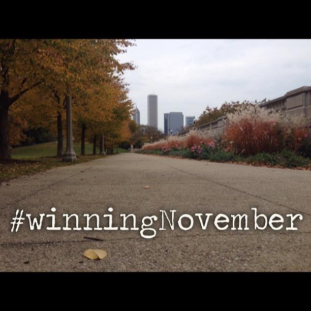 #WinningNovember